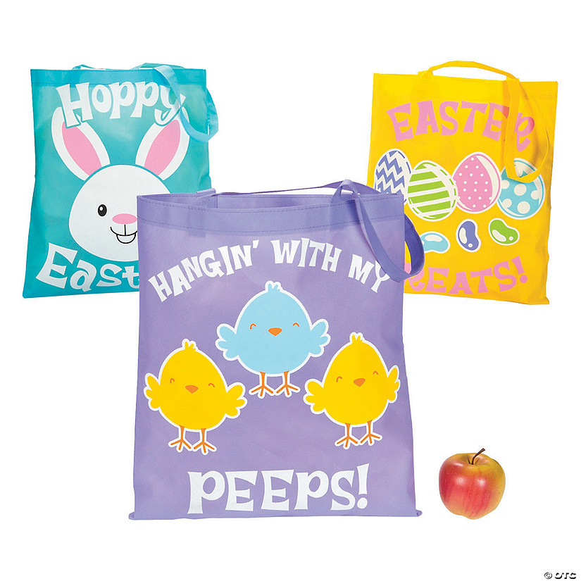 Large Easter Tote Bags