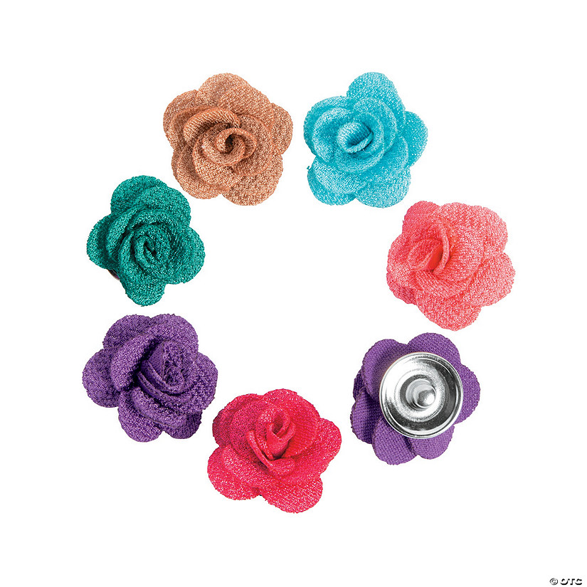 Large Flower Snap Beads
