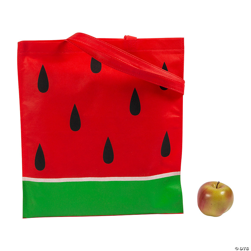 Large Watermelon Tote Bags