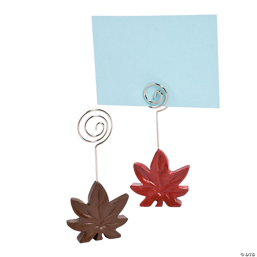 Leaf Place Card Holders