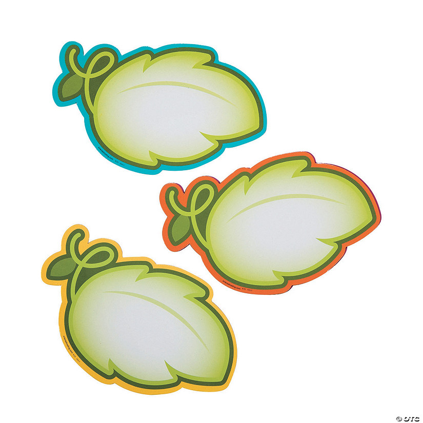 Leaf-Shaped Dry Erase Magnets