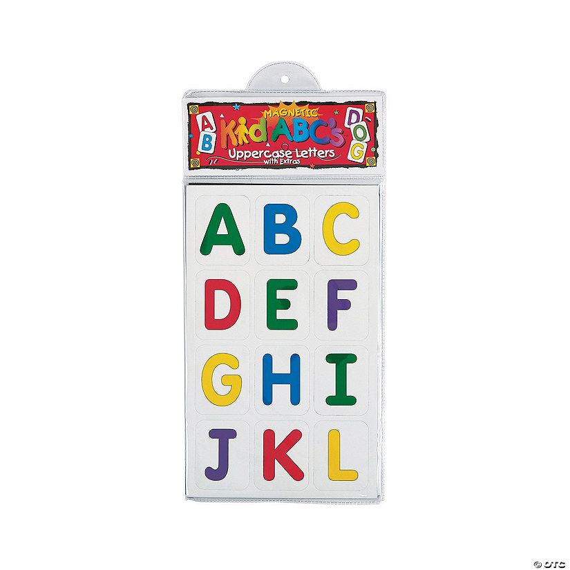 Learning Magnets® Uppercase Letters