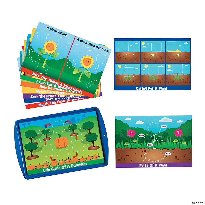 Learning Plants Magnetic Activity Set