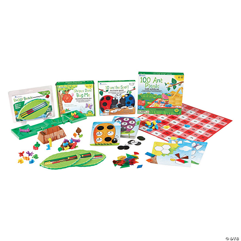 Learning Resources® Common Core Critters Kindergarten Bundle
