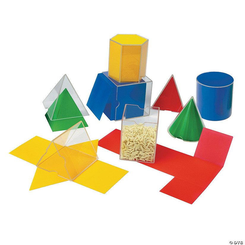 Learning Resources® Folding Geometric Shapes™