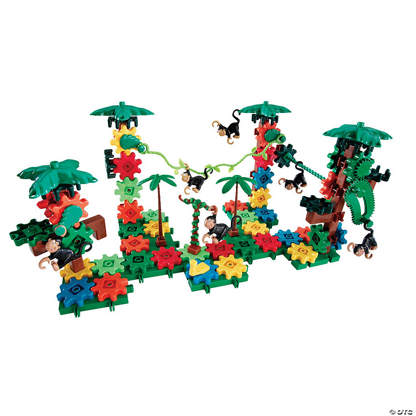 Learning Resources® Gears! Gears! Gears! Movin' Monkeys™ Building Set