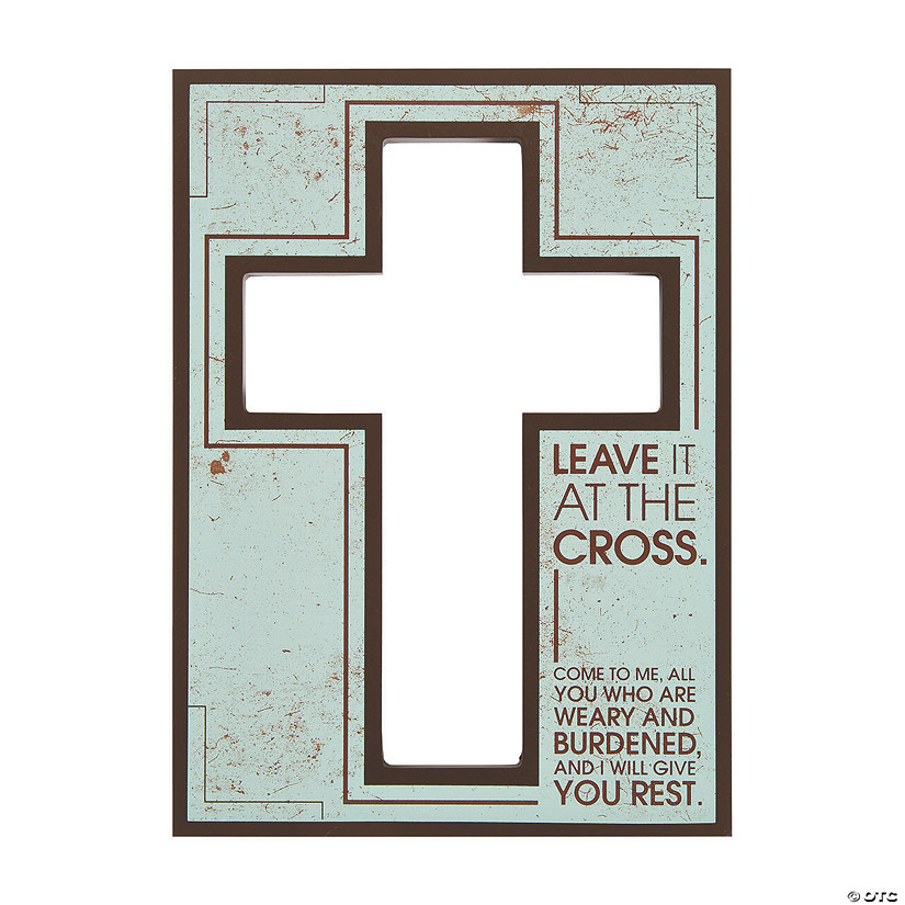 Leave It at the Cross Sign
