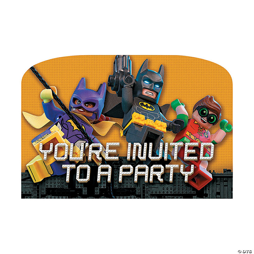 LEGO® Batman™ Postcard Invitations