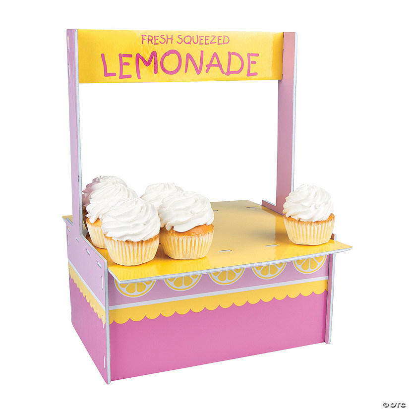 Lemonade Party Cupcake Stand