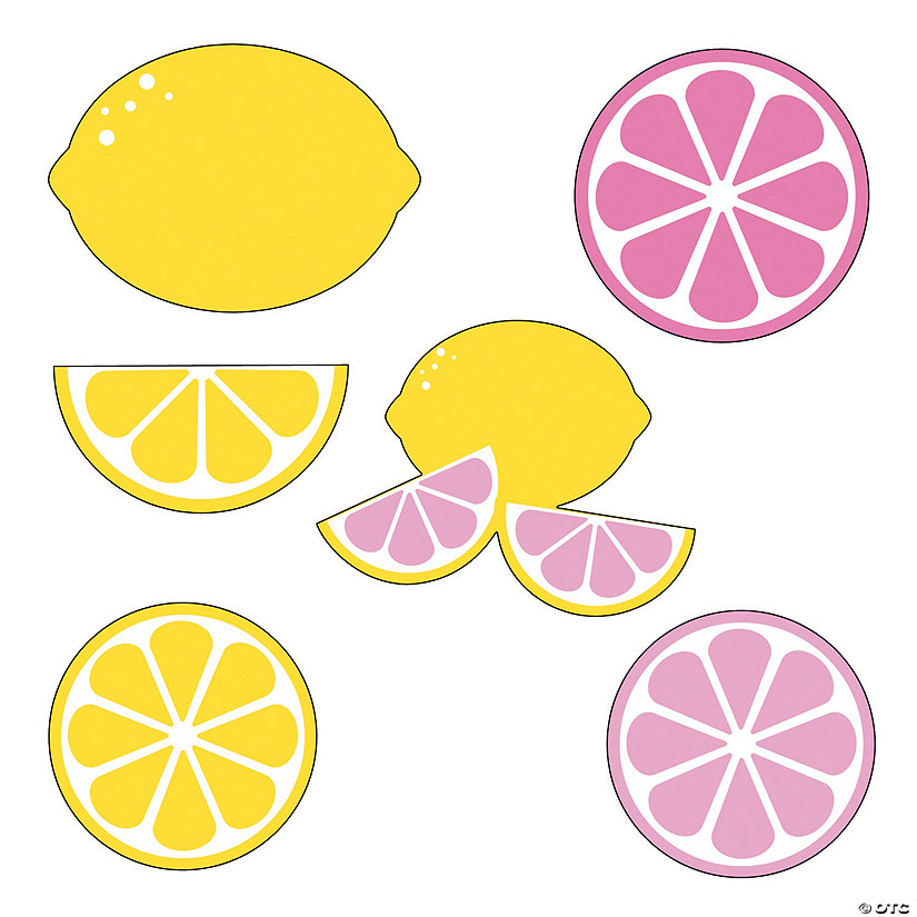 Lemonade Party Cutouts