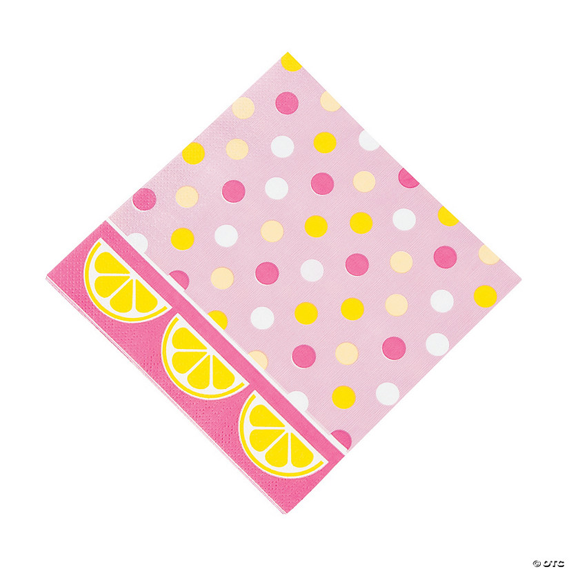 Lemonade Party Luncheon Napkins