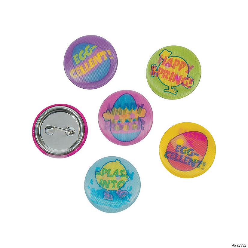 Lenticular Easter Mini Buttons
