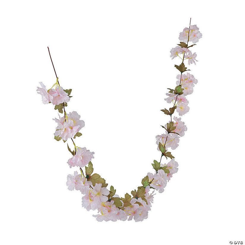 Light Pink Flower Garland