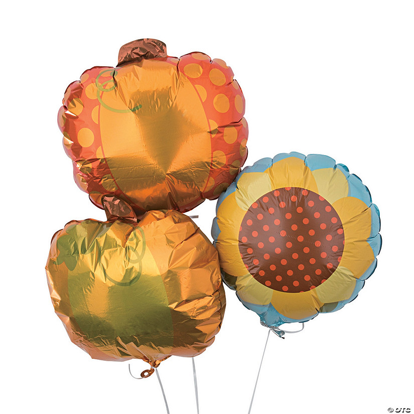 Lil' Pumpkin Party Mylar Balloons