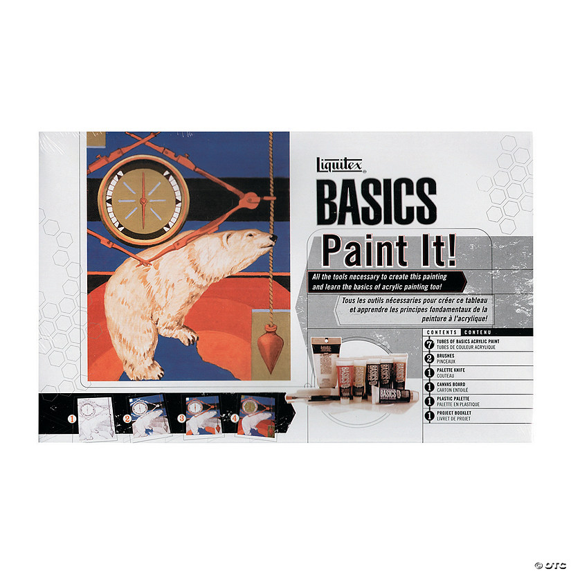 Liquitex Basics Acrylic Paint It! Set