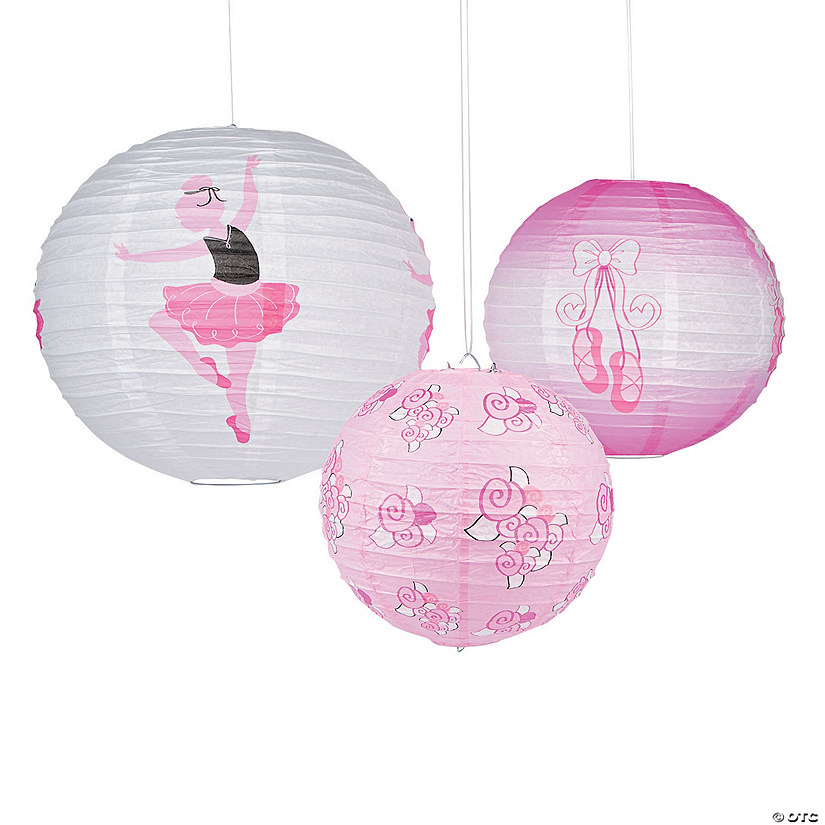 Little Ballerina Hanging Paper Lanterns