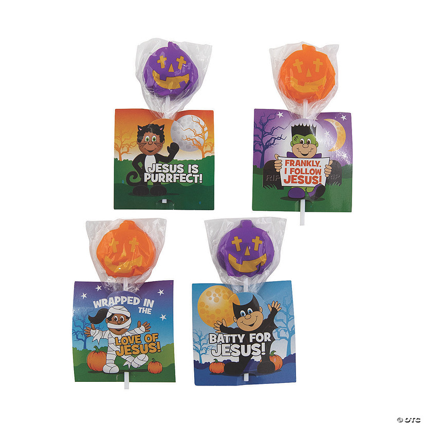 Little Boolievers Lollipops with Card