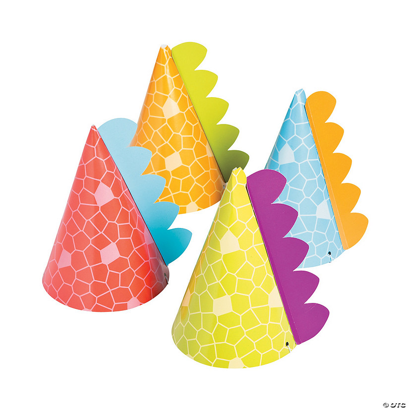 Little Dino Party Hats Assortment