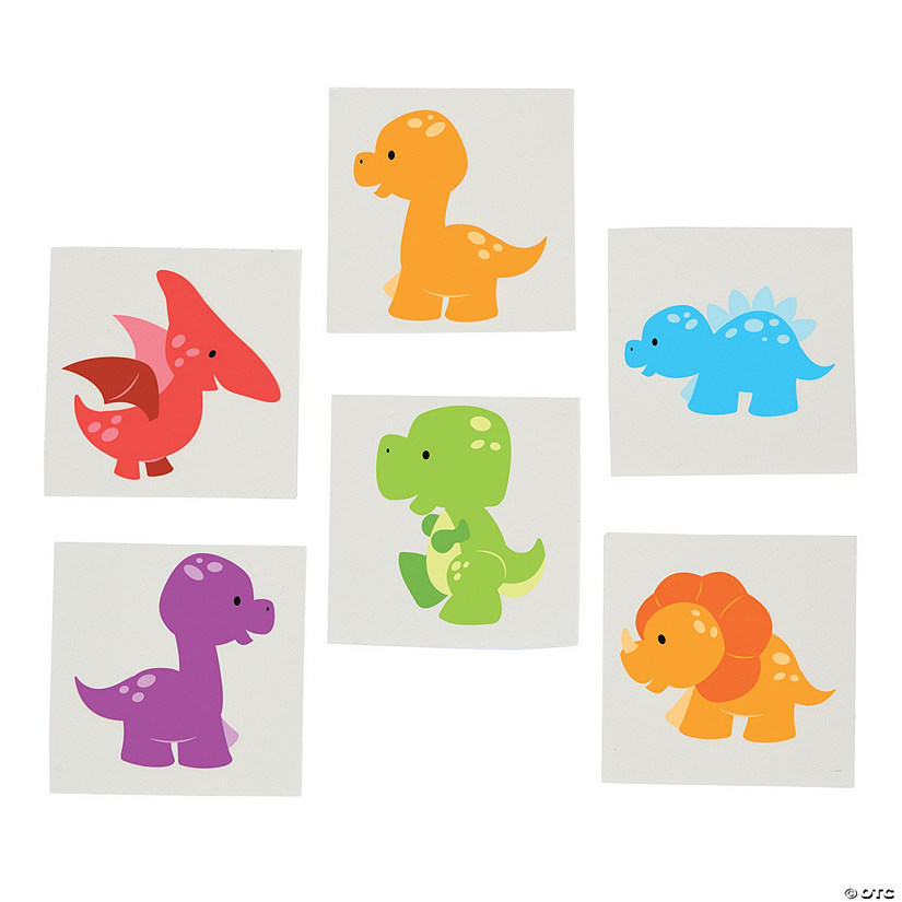 Little Dino Tattoos