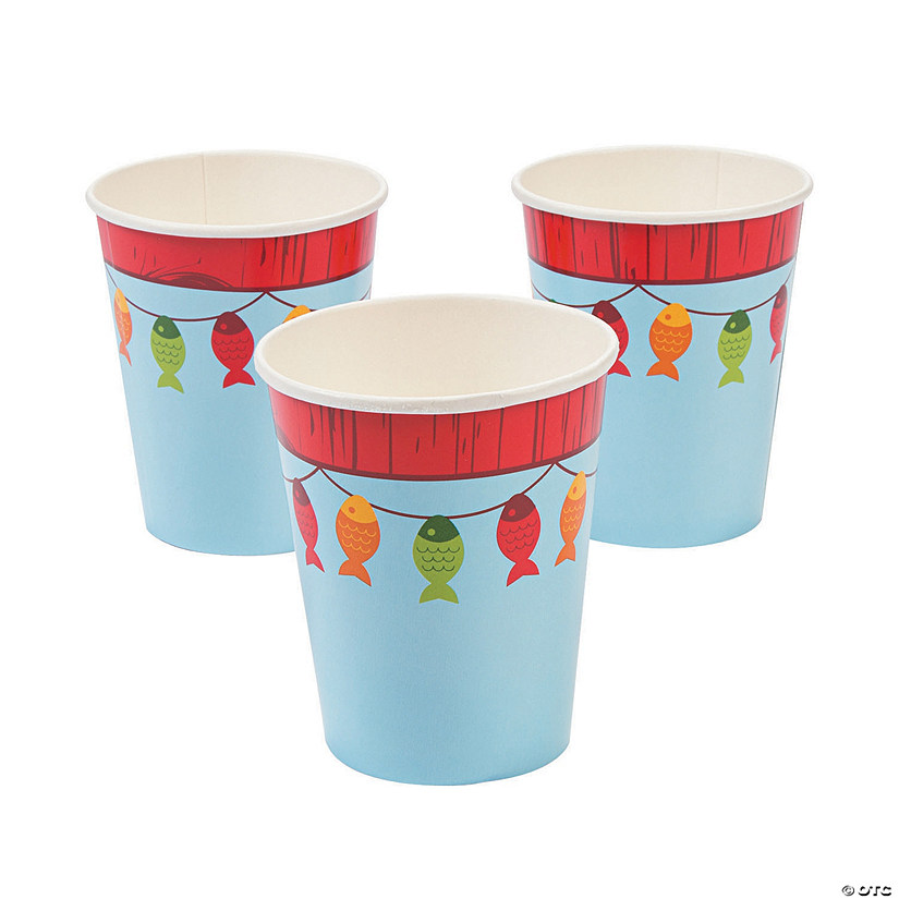 Little Fisherman Paper Cups