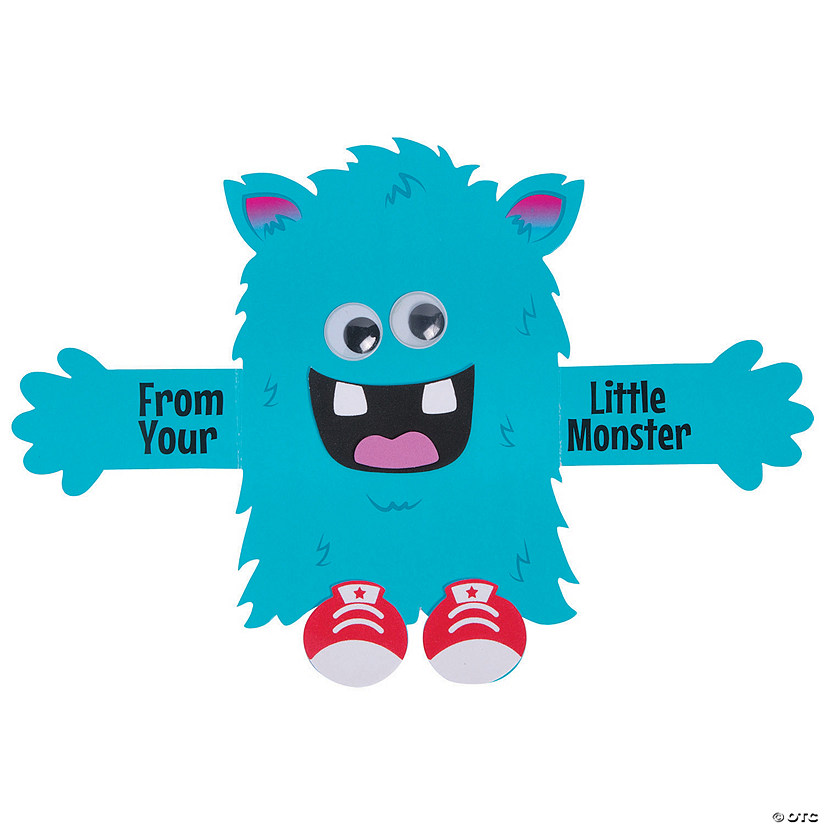 Little Monster Father's Day Craft Kit