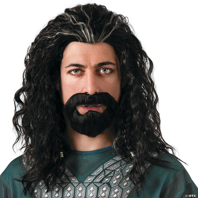 Lord Of The Rings Hobbit Thorin Wig & Beard Kit