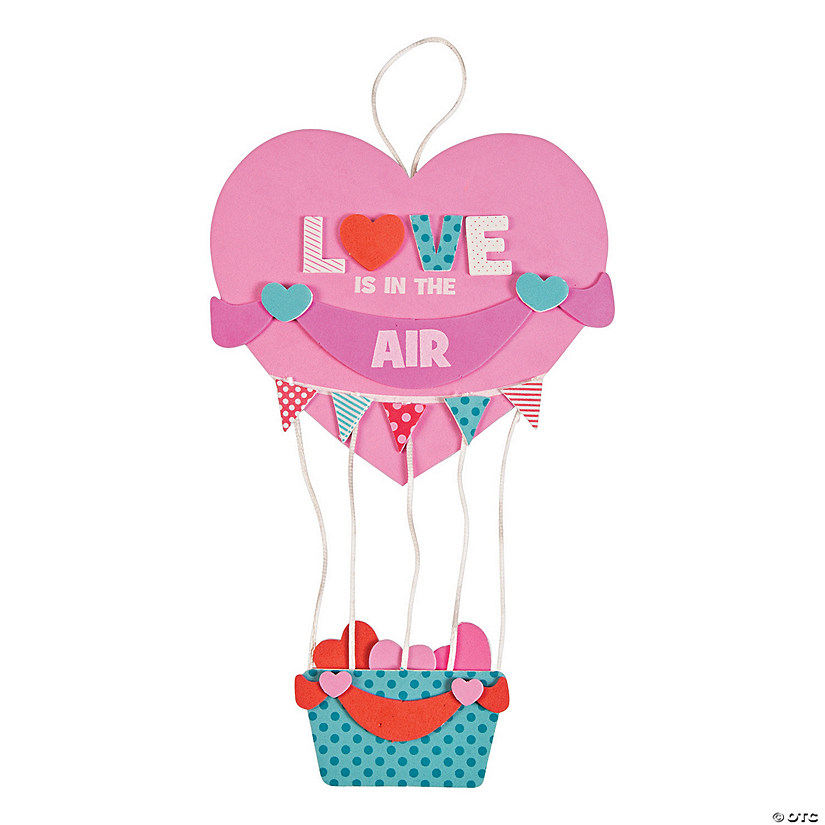 Love Is In The Air Sign Craft Kit