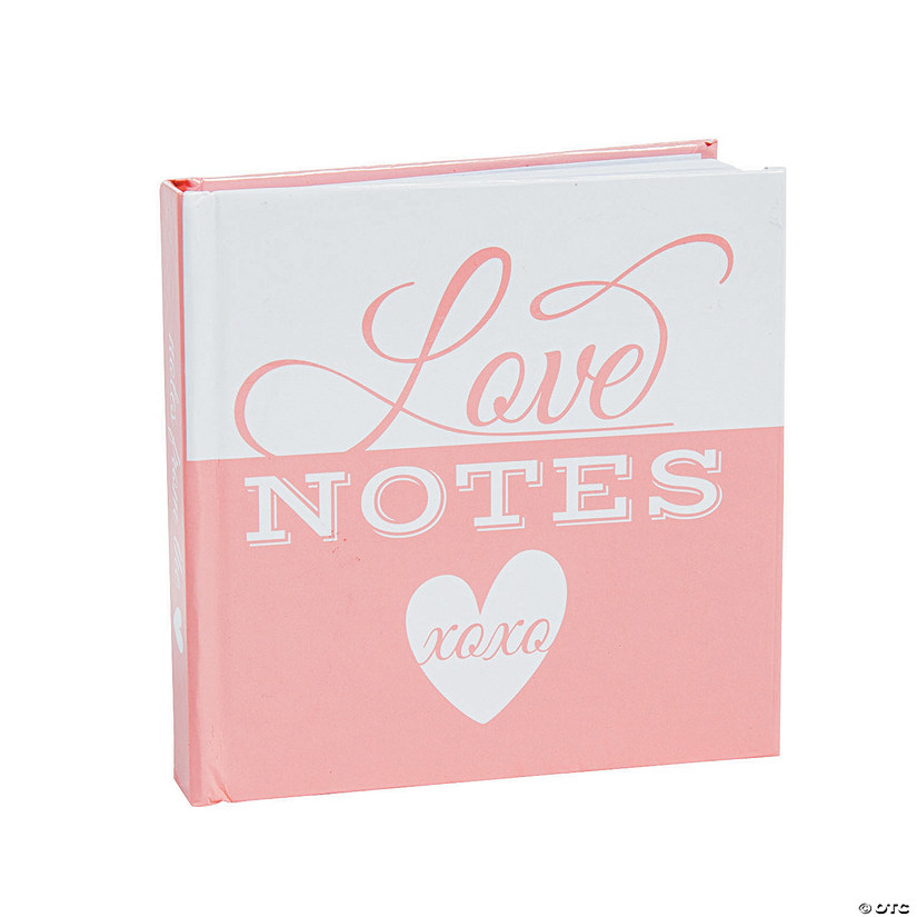Love Notes Favor Notepads