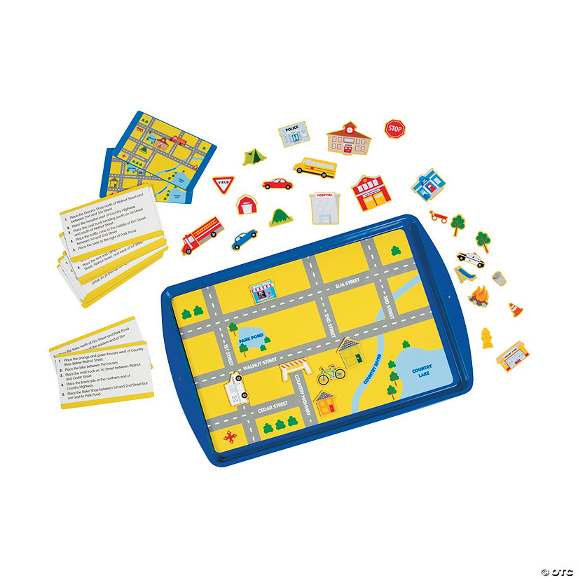 Map Skills Magnetic Activity Set