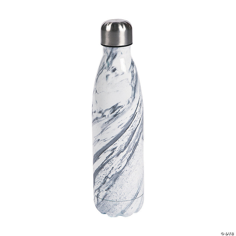 Marble Print Water Bottle