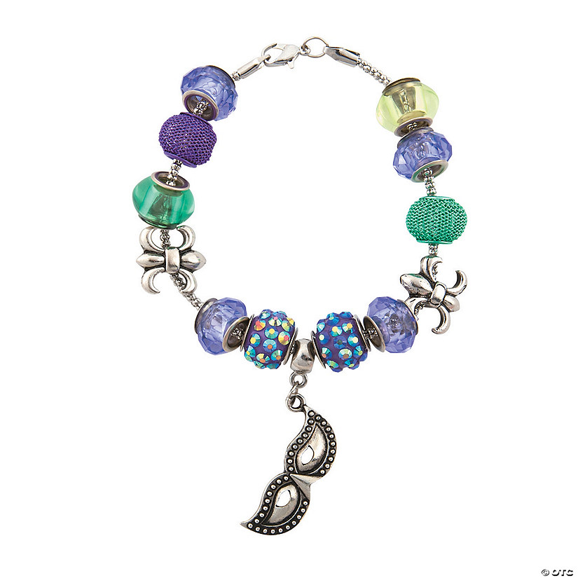 Mardi Gras Bracelet Craft Kit