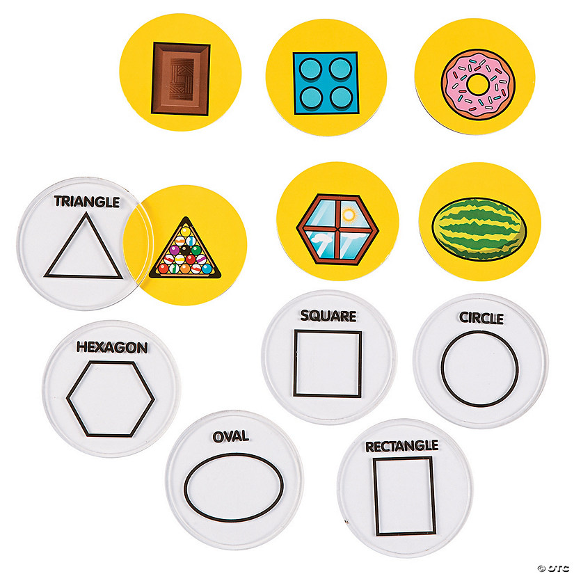 Match the Geometric Shapes Activity