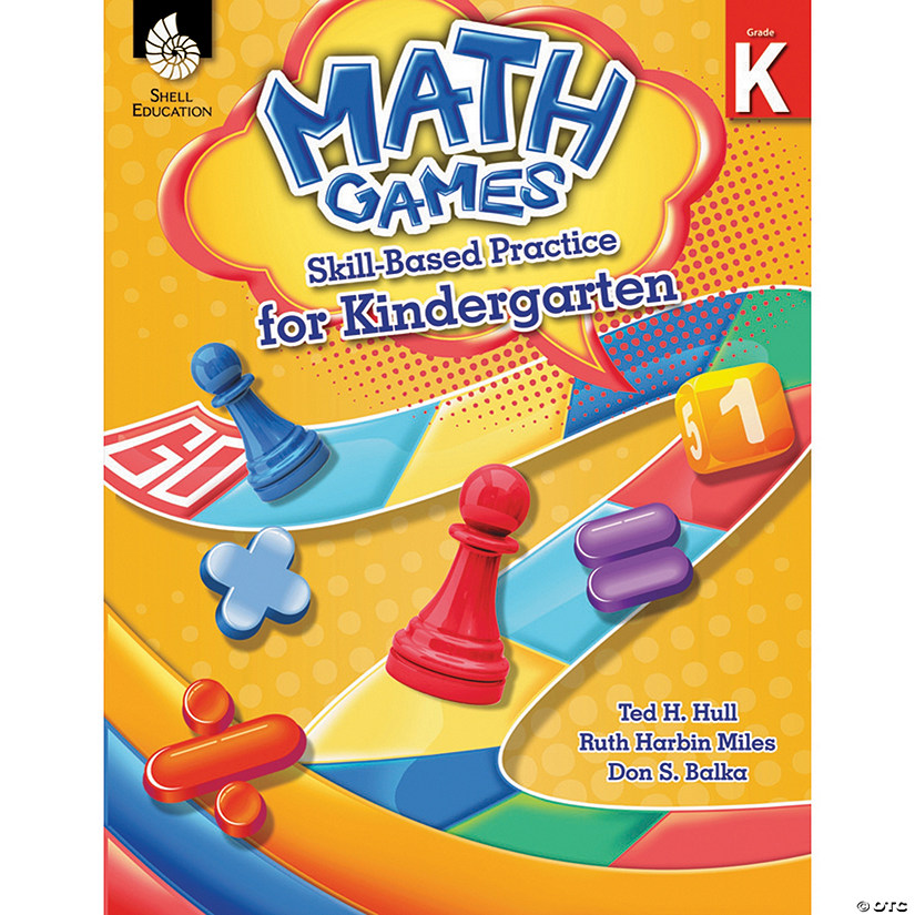 Math Games Skill-Based Practice for Kindergarten