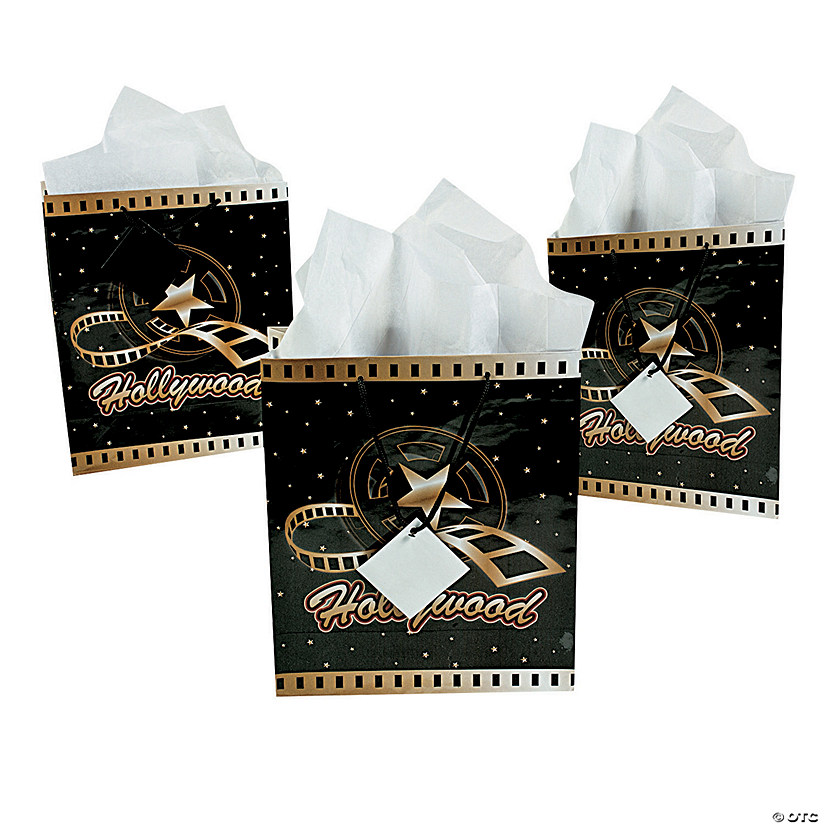 Medium Hollywood Gift Bags with Tags