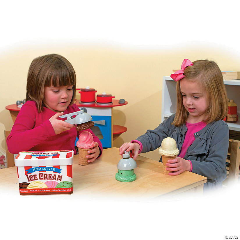 Melissa & Doug® Ice Cream Cone Playset