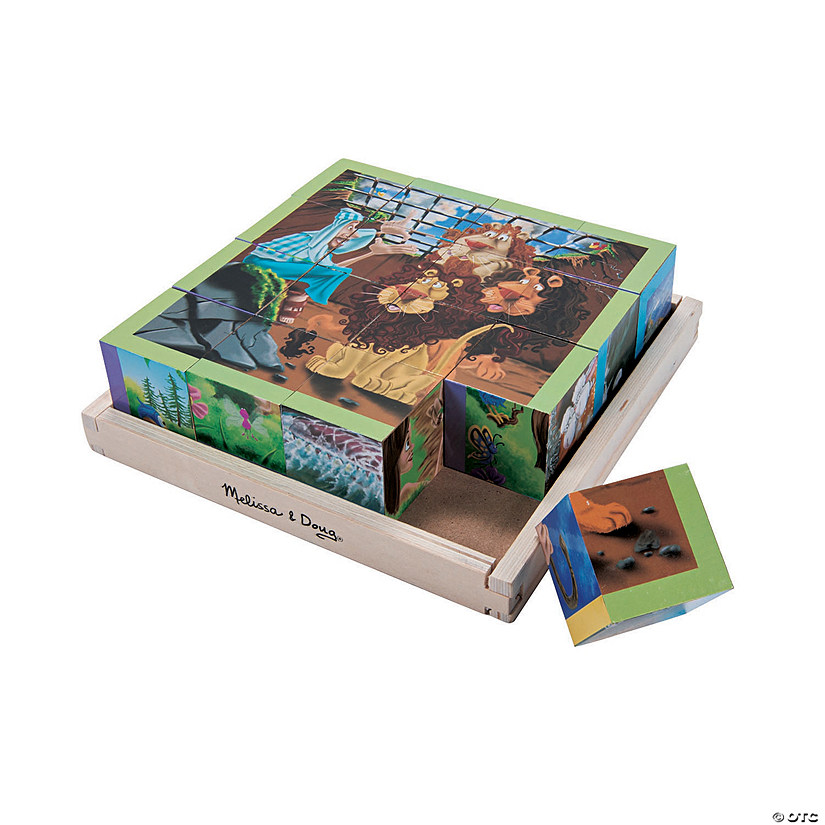 Melissa & Doug<sup>®</sup> Old Testament Cube Puzzle