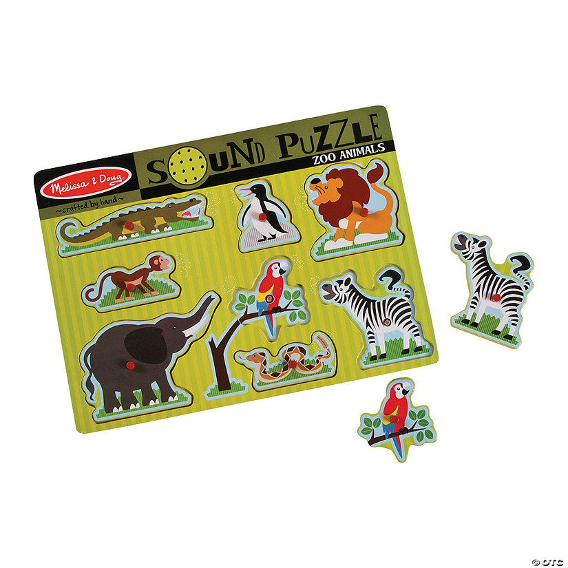 Melissa & Doug<sup>®</sup> Zoo Animal Sounds Puzzle