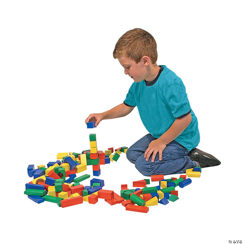 Melissa & Doug® Wood Building Blocks Set