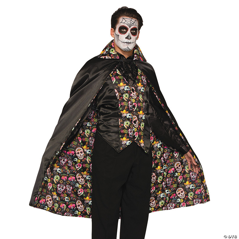 Men Day of the Dead Cape