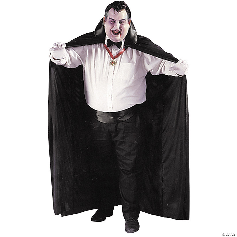 Men's Big & Tall Cape Costume
