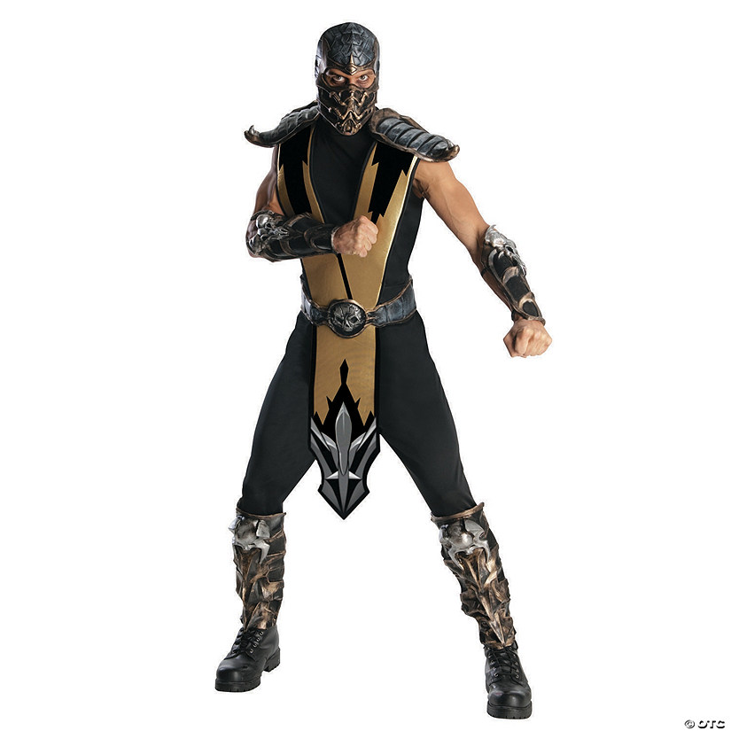 Men's Deluxe Mortal Kombat™ Scorpion Costume