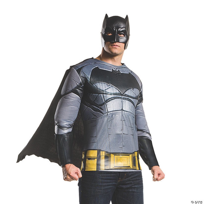 Men's Deluxe Muscle Chest Batman v Superman: Dawn of Justice™ Batman Costume Top