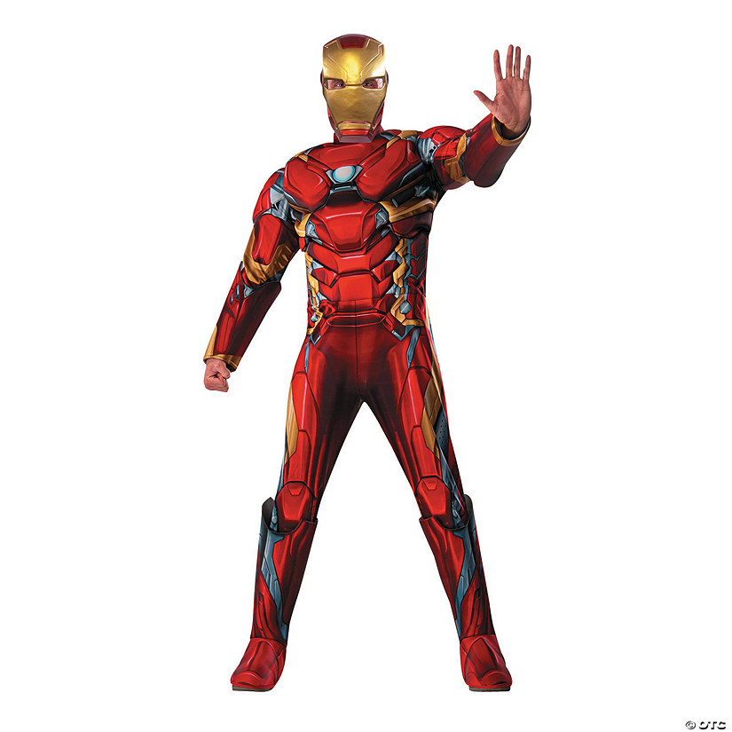 Men's Deluxe Muscle Chest Iron Man™ Costume