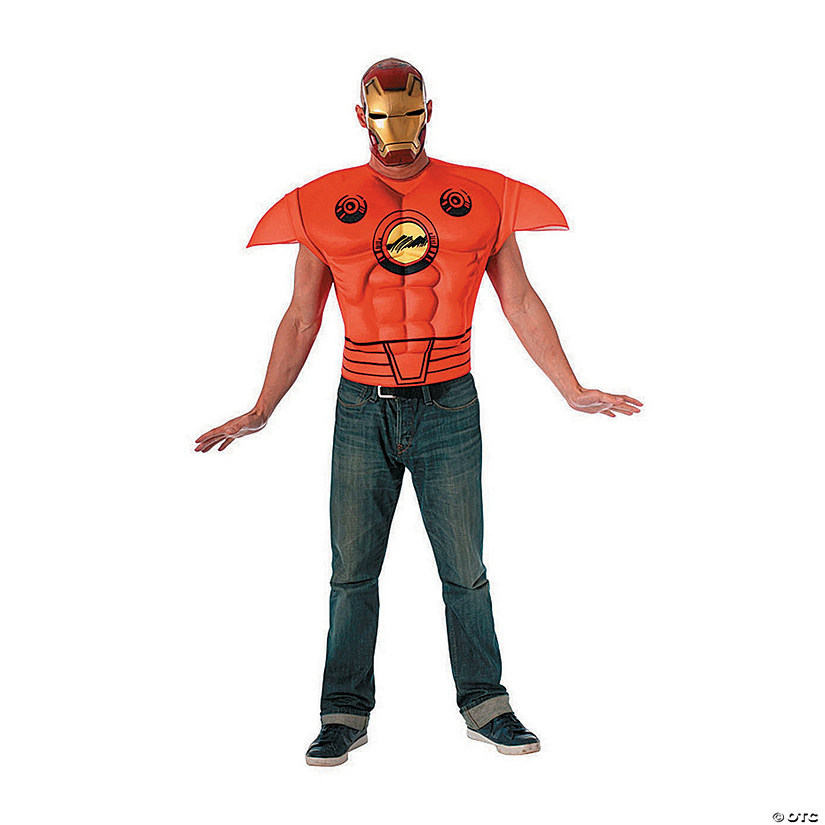Men's Muscle Chest Iron Man™ Costume