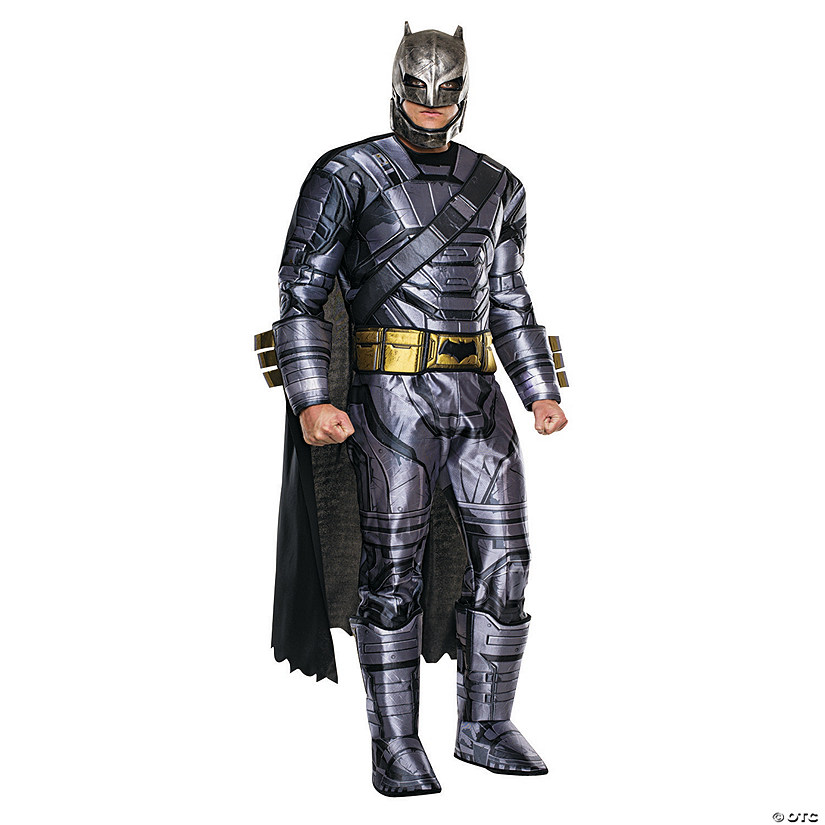 Men's Armored Deluxe Batman v. Superman: Dawn of Justice™ Batman Costume