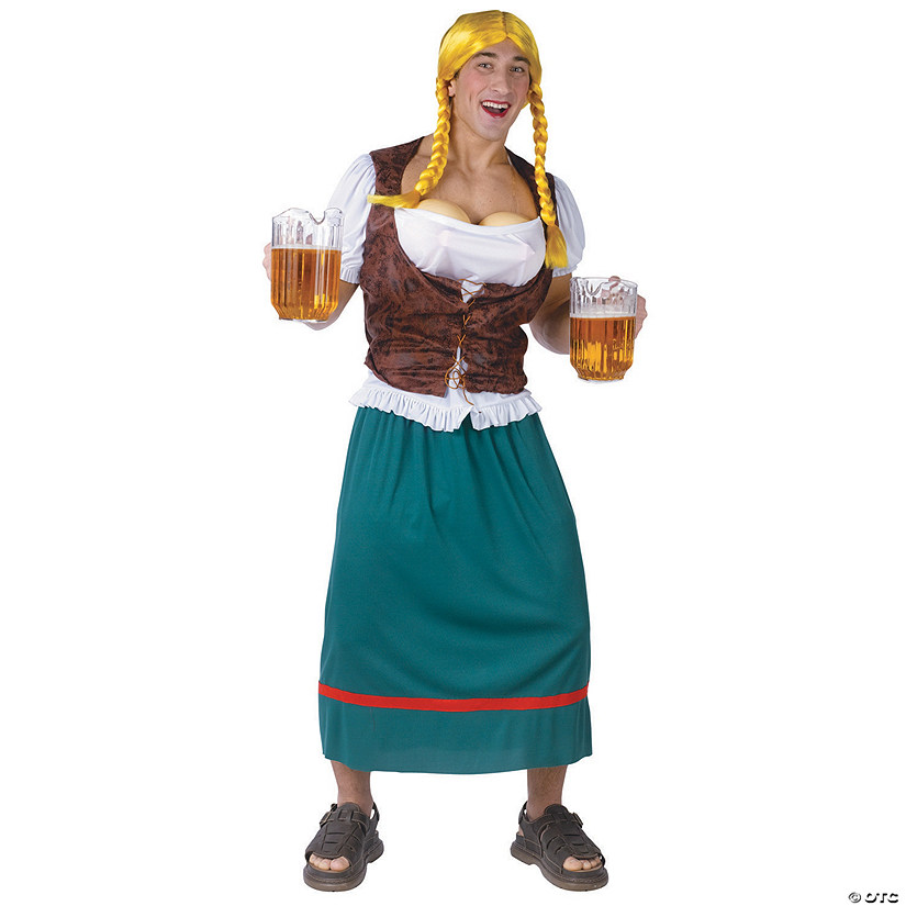 Men's Beer Girl Costume