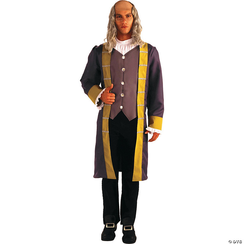 Men's Ben Franklin Costume