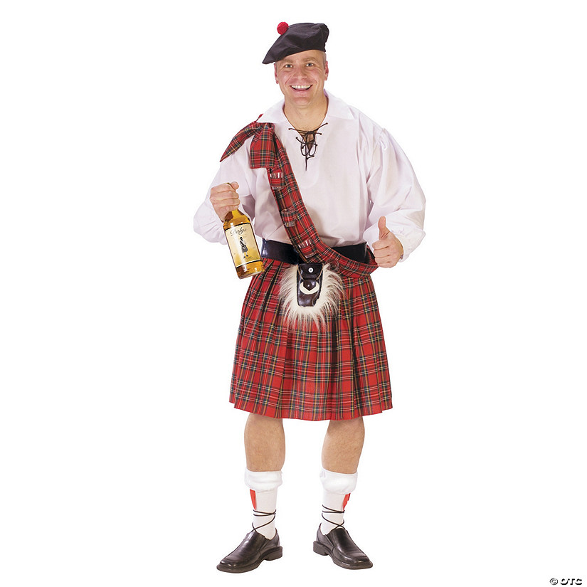 Men's Big Shot Scot Costume