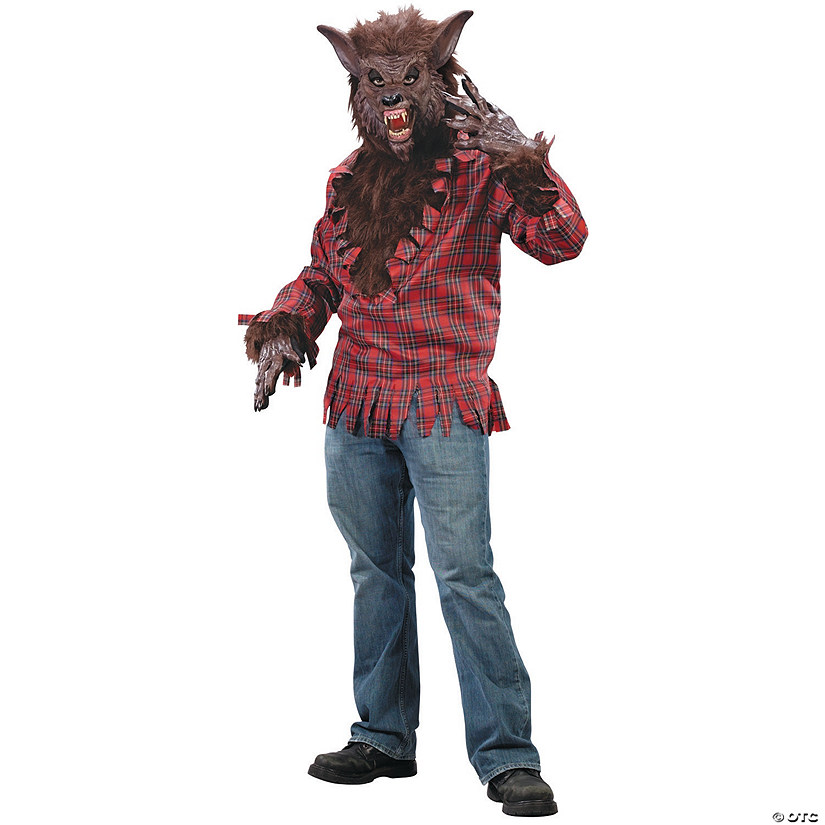 Men's Brown Werewolf Costume