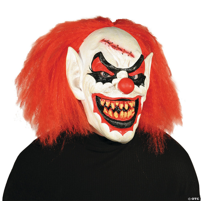 Men's Carver the Killer Clown Mask